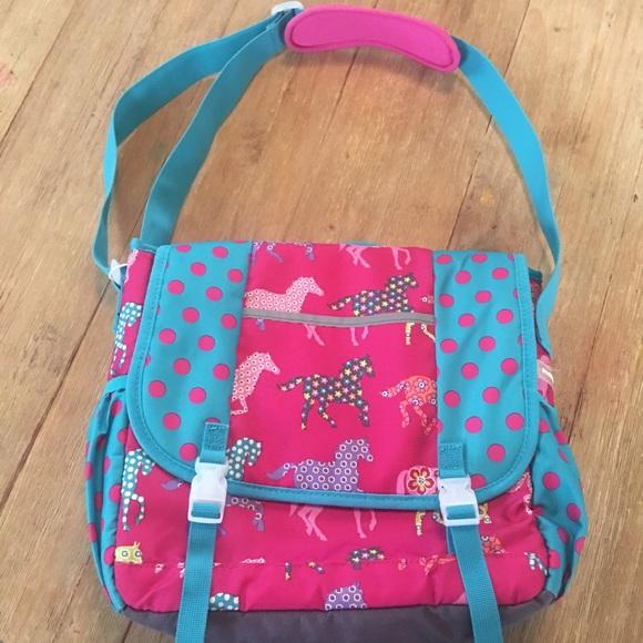 d0c3109644 Garnet Hill Kids Other - Garnet Hill Kids Pony Up Crossbody messenger bag